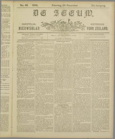 De Zeeuw. Christelijk-historisch nieuwsblad voor Zeeland 1906-11-24
