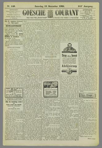 Goessche Courant 1924-12-13