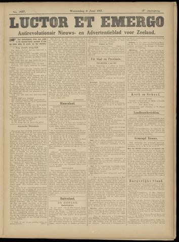 Luctor et Emergo. Antirevolutionair nieuws- en advertentieblad voor Zeeland / Zeeuwsch-Vlaanderen. Orgaan ter verspreiding van de christelijke beginselen in Zeeuwsch-Vlaanderen 1917-06-06