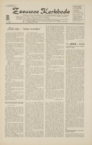 Zeeuwsche kerkbode, weekblad gewijd aan de belangen der gereformeerde kerken/ Zeeuwsch kerkblad 1964-08-28
