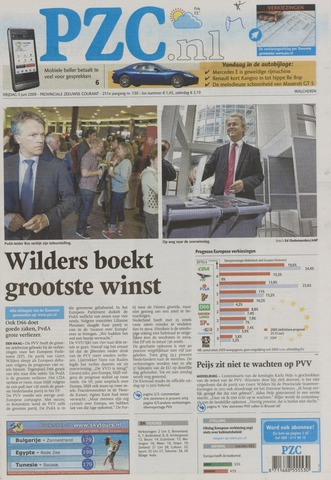 Provinciale Zeeuwse Courant 2009-06-05