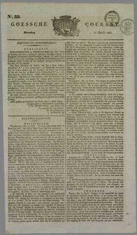 Goessche Courant 1833-04-22