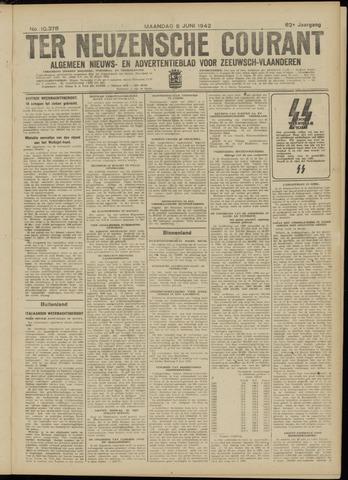Ter Neuzensche Courant. Algemeen Nieuws- en Advertentieblad voor Zeeuwsch-Vlaanderen / Neuzensche Courant ... (idem) / (Algemeen) nieuws en advertentieblad voor Zeeuwsch-Vlaanderen 1942-06-08