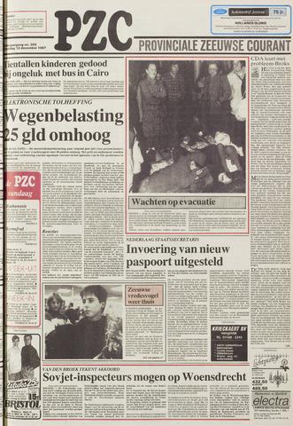 Provinciale Zeeuwse Courant 1987-12-12