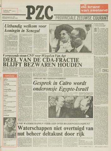 Provinciale Zeeuwse Courant 1977-11-29