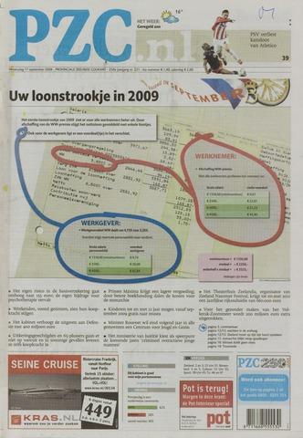 Provinciale Zeeuwse Courant 2008-09-17