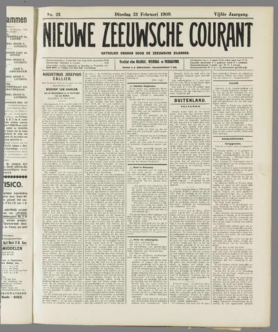 Nieuwe Zeeuwsche Courant 1909-02-23