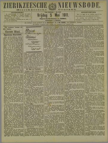 Zierikzeesche Nieuwsbode 1911-05-05