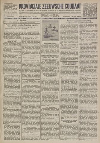 Provinciale Zeeuwse Courant 1941-10-10