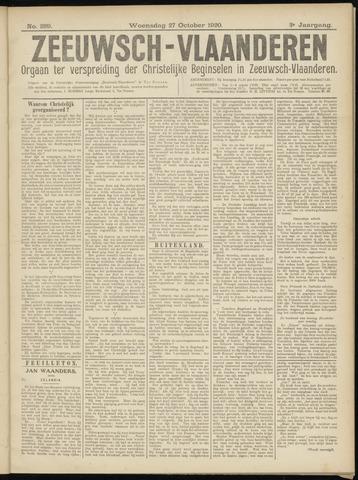 Luctor et Emergo. Antirevolutionair nieuws- en advertentieblad voor Zeeland / Zeeuwsch-Vlaanderen. Orgaan ter verspreiding van de christelijke beginselen in Zeeuwsch-Vlaanderen 1920-10-27