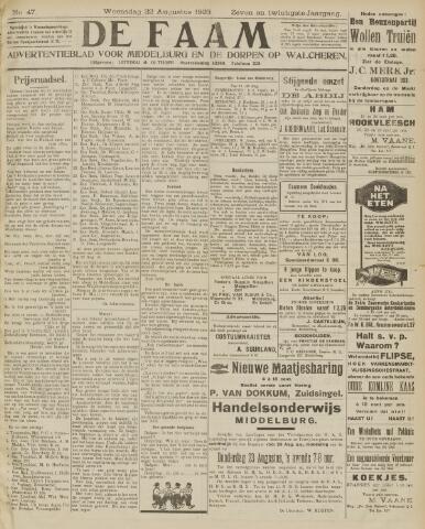 de Faam en de Faam/de Vlissinger 1923-08-22
