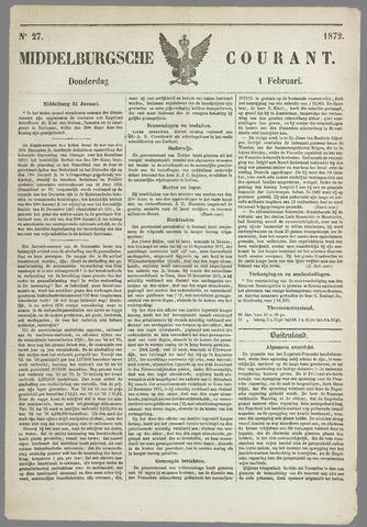 Middelburgsche Courant 1872-02-01