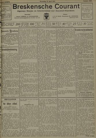 Breskensche Courant 1934-04-25