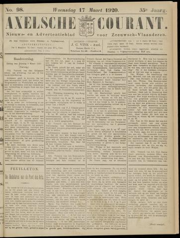 Axelsche Courant 1920-03-17