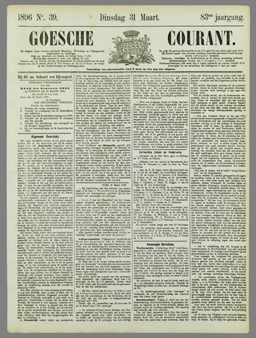 Goessche Courant 1896-03-31
