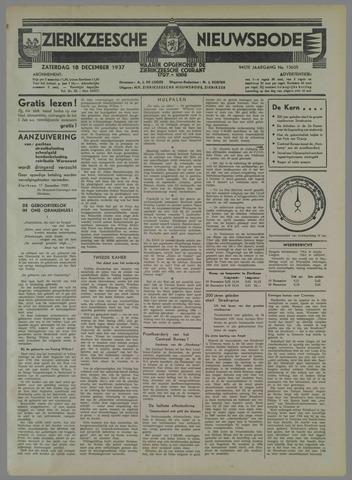 Zierikzeesche Nieuwsbode 1937-12-18