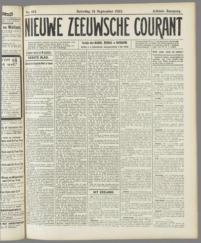 Nieuwe Zeeuwsche Courant 1912-09-21