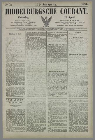 Middelburgsche Courant 1884-04-19