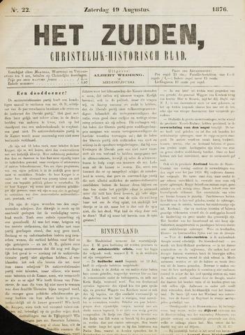 Het Zuiden, Christelijk-historisch blad 1876-08-19