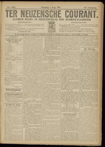 Ter Neuzensche Courant. Algemeen Nieuws- en Advertentieblad voor Zeeuwsch-Vlaanderen / Neuzensche Courant ... (idem) / (Algemeen) nieuws en advertentieblad voor Zeeuwsch-Vlaanderen 1916-08-01