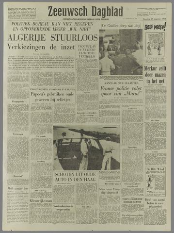 Zeeuwsch Dagblad 1962-08-27