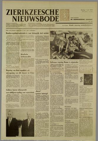 Zierikzeesche Nieuwsbode 1970-07-07