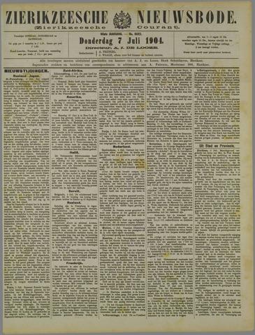 Zierikzeesche Nieuwsbode 1904-07-07