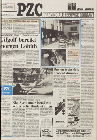 Provinciale Zeeuwse Courant 1986-11-08