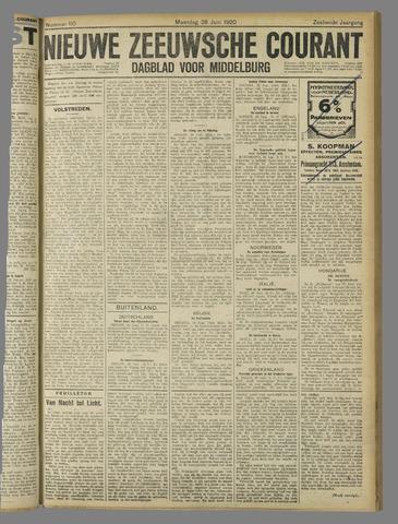 Nieuwe Zeeuwsche Courant 1920-06-28