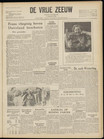de Vrije Zeeuw 1952-04-30