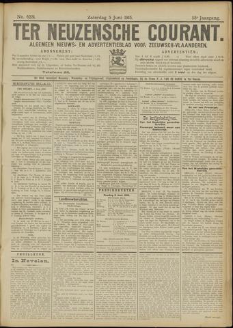 Ter Neuzensche Courant. Algemeen Nieuws- en Advertentieblad voor Zeeuwsch-Vlaanderen / Neuzensche Courant ... (idem) / (Algemeen) nieuws en advertentieblad voor Zeeuwsch-Vlaanderen 1915-06-05