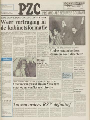 Provinciale Zeeuwse Courant 1981-09-08