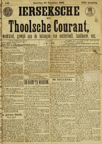 Ierseksche en Thoolsche Courant 1893-12-23