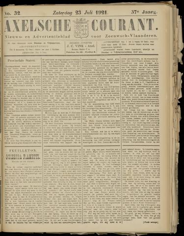 Axelsche Courant 1921-07-23