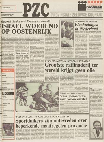 Provinciale Zeeuwse Courant 1979-07-09