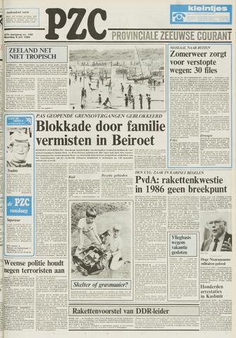 Provinciale Zeeuwse Courant 1984-07-09