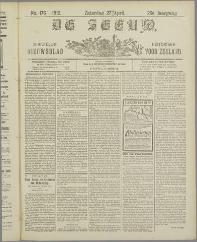 De Zeeuw. Christelijk-historisch nieuwsblad voor Zeeland 1912-04-27