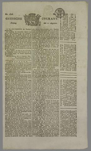 Goessche Courant 1826-08-11