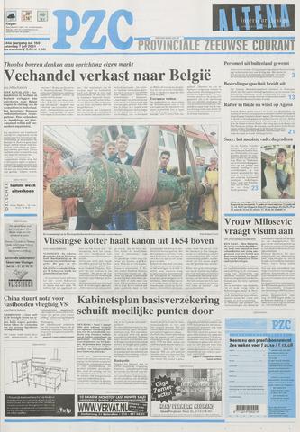 Provinciale Zeeuwse Courant 2001-07-07