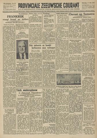 Provinciale Zeeuwse Courant 1947-05-17