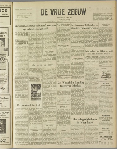 de Vrije Zeeuw 1959-04-13