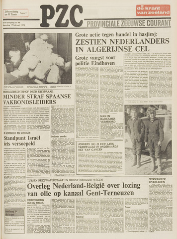Provinciale Zeeuwse Courant 1975-02-17