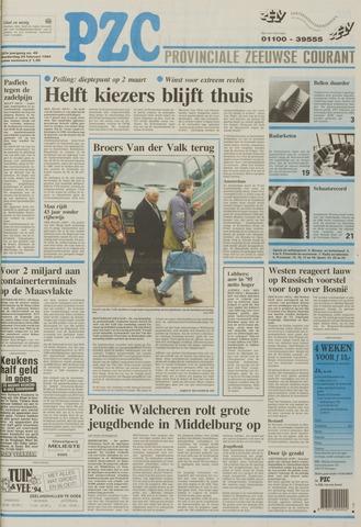 Provinciale Zeeuwse Courant 1994-02-24