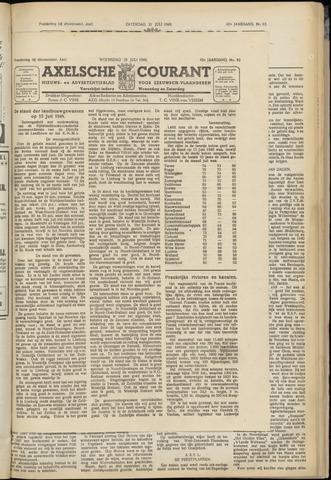 Axelsche Courant 1948-07-28