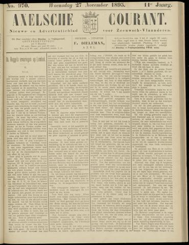 Axelsche Courant 1895-11-27