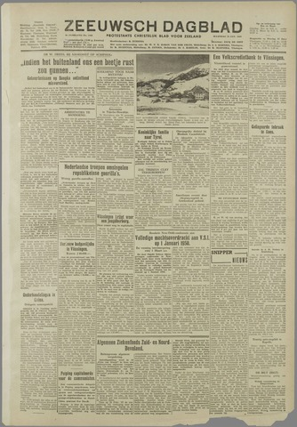 Zeeuwsch Dagblad 1949-01-24