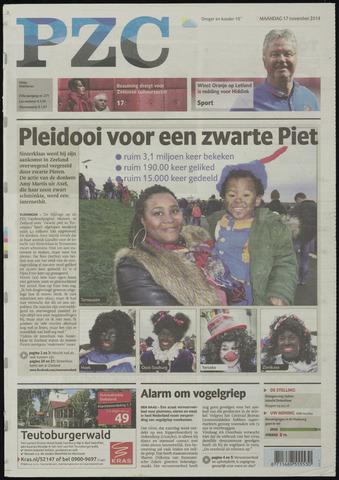 Provinciale Zeeuwse Courant 2014-11-17