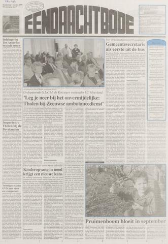 Eendrachtbode (1945-heden)/Mededeelingenblad voor het eiland Tholen (1944/45) 1999-10-07