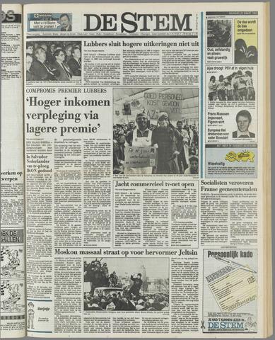de Stem 1989-03-20