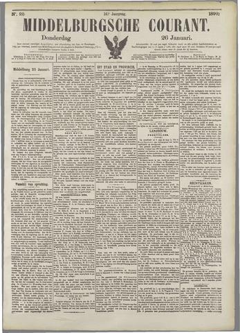 Middelburgsche Courant 1899-01-26